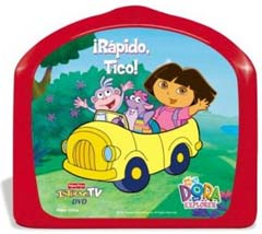 Rapido Tico!(英語版ドラは スペイン語を使っています。)