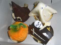 les gâteaux d'Halloween